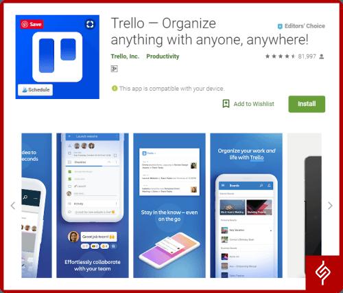 Trello-Productivity-Apps